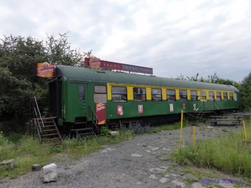 Vagón Orient Expres - Praha Žižkov