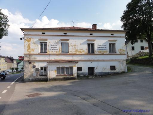 Nejstarší hospoda na Šumavě - Horní Vltavice