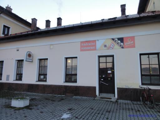 Nádražní restaurace - Šternberk
