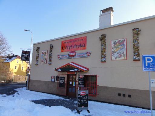 Restaurace U čtuř draků - Ostrov nad Ohří