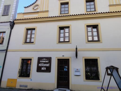 restaurace Měšťanský dům - Pelhřimov