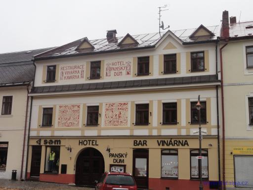 Hotel Panský dům - Nové Město na Moravě