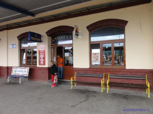 Výhrevňa nádraží - Vrútky