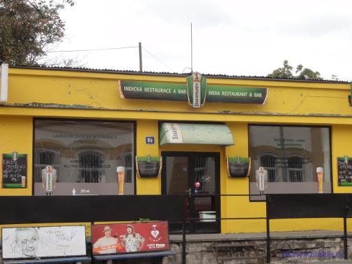 Zahradní indická restaurace - Praha Smíchov