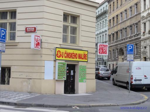 U čínského malíře - Praha