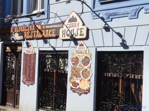 Indická a Bengálská restaurace Curry House- Praha Libeň