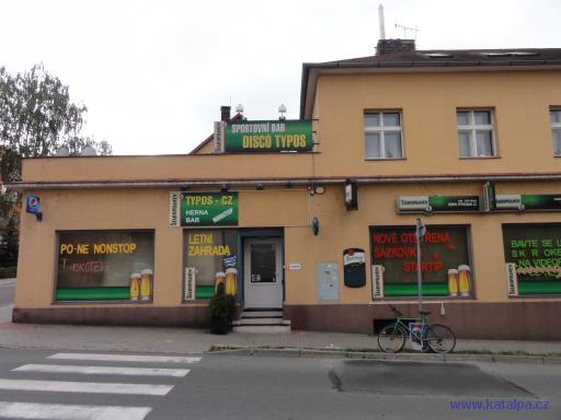 Sportovní bar Disco Typos - Rychnov nad Kněžnou