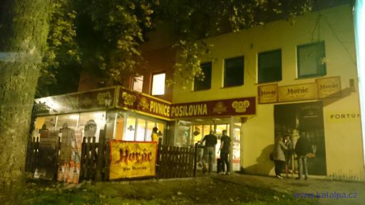 Pivnice Posilovna - Jihlava