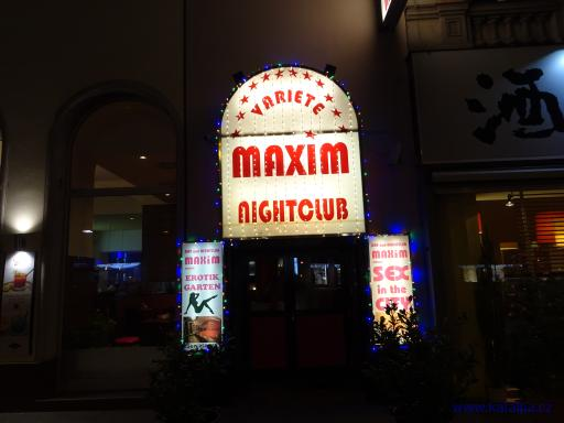 Variete Maxim nightclub - Wien