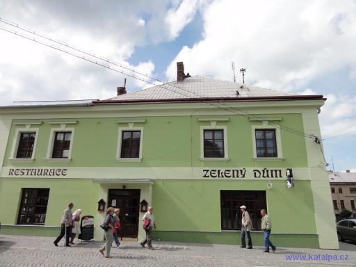 Restaurace Zelený dům - Kostelec nad Černými Lesy