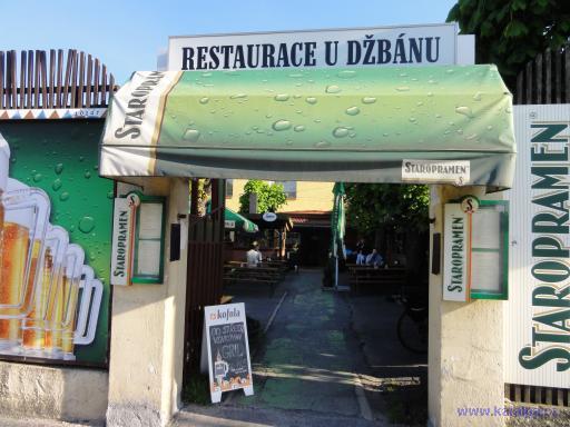 Restaurace U Džbánu - Praha