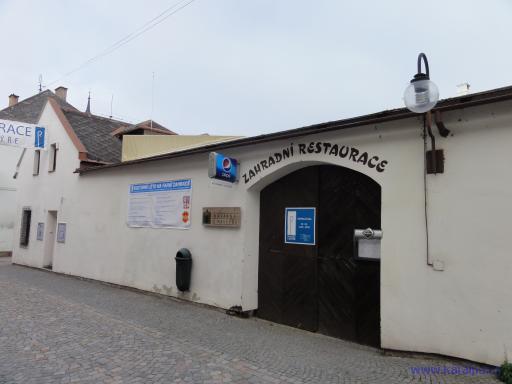 Zahradní restaurace Lanškroun