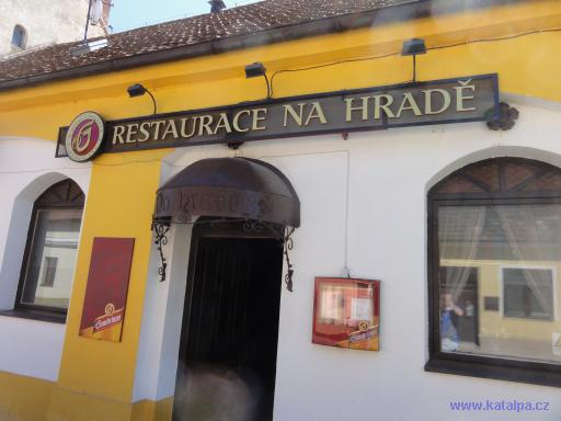 Restaurace Na hradě - Lomnice nad Lužnicí