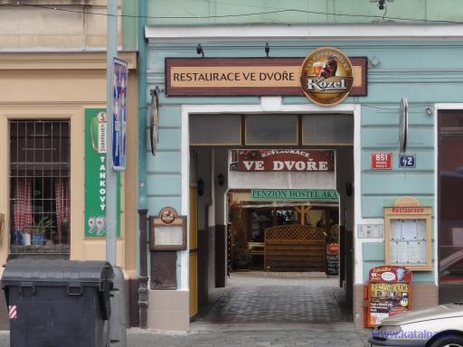 Restaurace Ve dvoře - Praha Smíchov