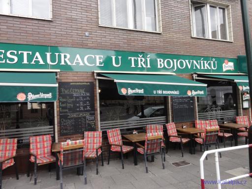 Restaurace U tří bojovníků - Praha