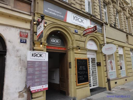 Restaurant Krok zpět - Praha