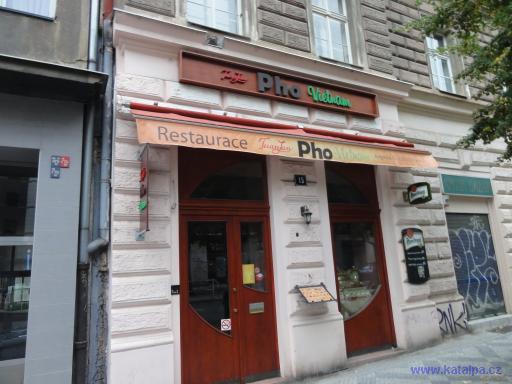 Restaurace Tuan Lan Pho Vietnam - Praha