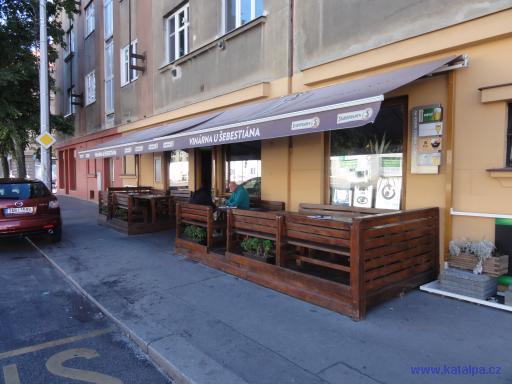 Vinárna U Šebestiána - Praha Vysočany