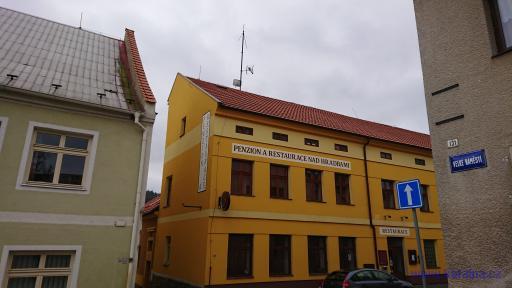 Penzion a restaurace Nad hradbami - Žlutice
