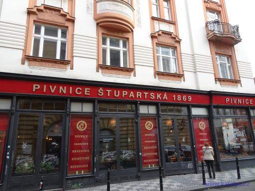 Pivnice Štupartská 1869 - Praha